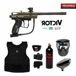 Spyder Victor Maddog Beginner Protective CO2 Paintball Gun M