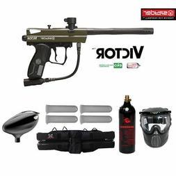 Spyder Victor Maddog Starter CO2 Paintball Gun Marker Packag