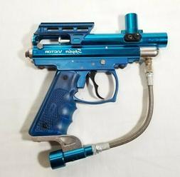 Spyder Victor Semi Auto Paintball Gun - Gloss Blue - No Barr