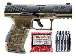 Walther PPQ .43 Blowback Paintball Pistol Super Combo