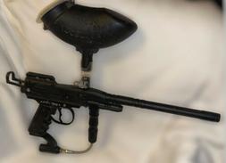 Spyder Xtra Black Paintball Gun Marker with Loader Hopper Un