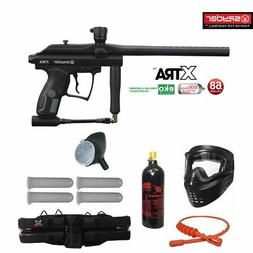 Spyder XTRA Maddog Silver Paintball Gun Marker Package